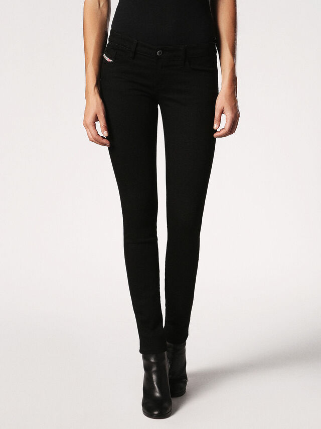 SKINZEE-LOW 0813E, Negro denim