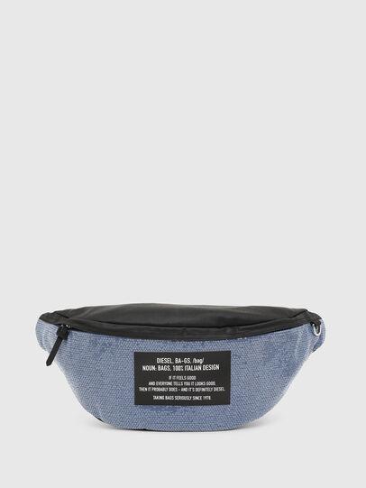 Diesel - D-THISBAG BELT, Azul/Negro - Bolsas con cinturón - Image 1