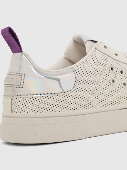 Diesel - S-CLEVER LC W, Blanco/Rosa - Sneakers - Image 4