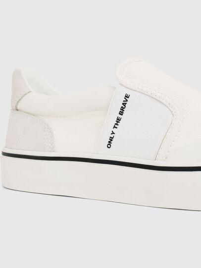 Diesel - S-FLIP SO, Blanco - Sneakers - Image 4