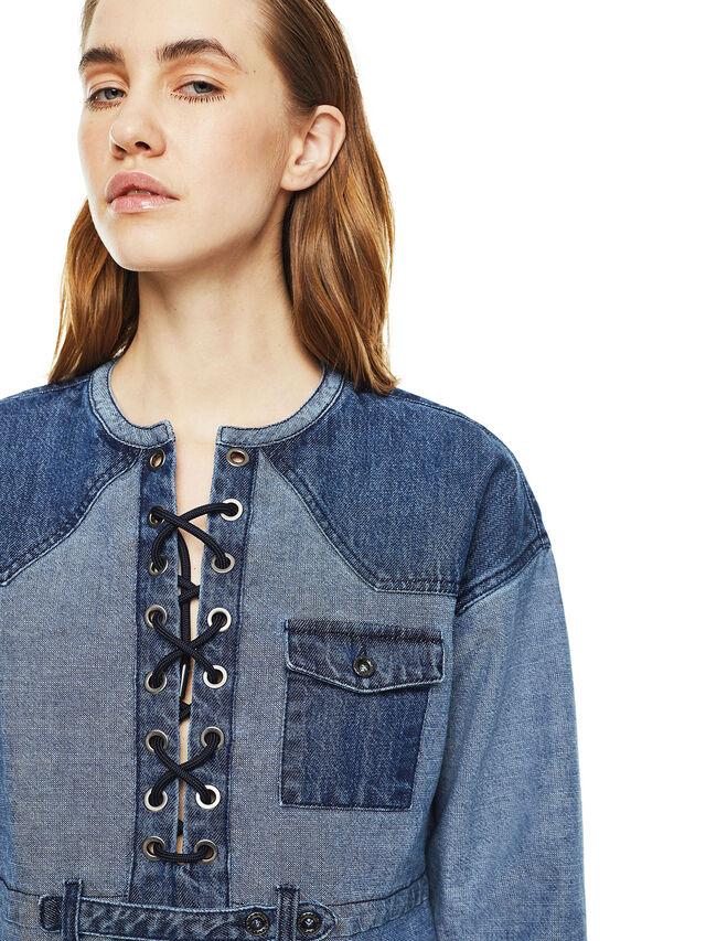 Diesel - DAFARY, Blue Jeans - Vestidos - Image 4