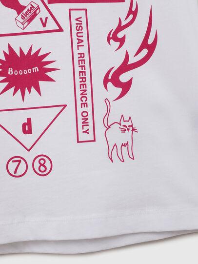 Diesel - TDARIAE, Blanco - Camisetas y Tops - Image 4