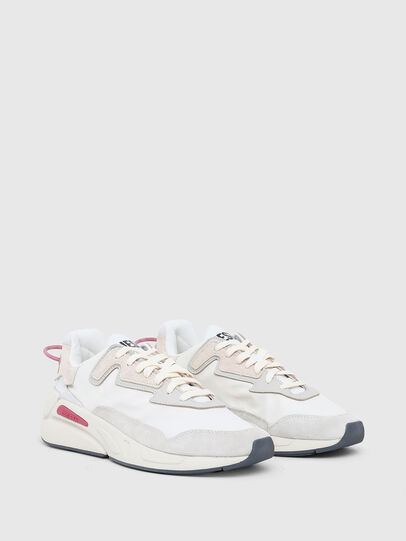 Diesel - S-SERENDIPITY LC W, Blanco/Rosa - Sneakers - Image 2