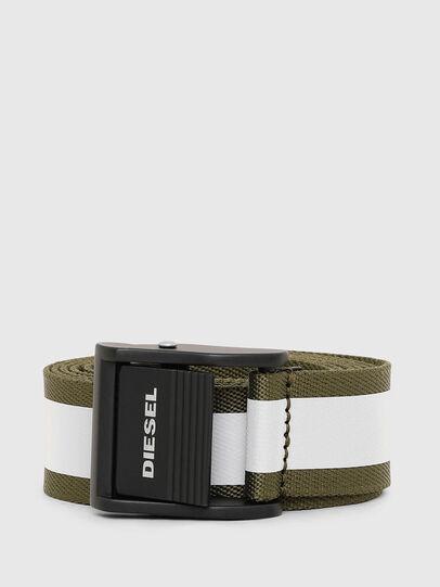 Diesel - B-FIRE, Verde Oliva - Cinturones - Image 1