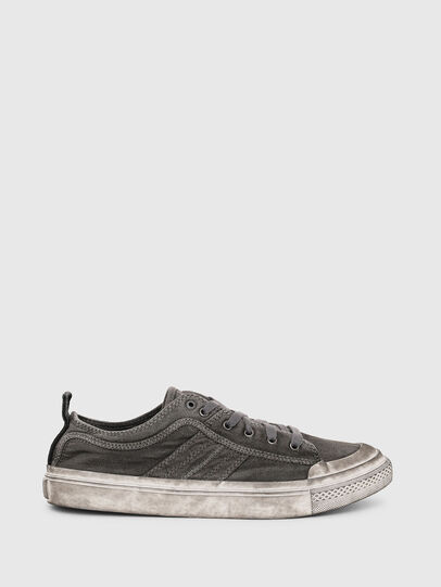 Diesel - S-ASTICO LOW LACE, Gris oscuro - Sneakers - Image 1