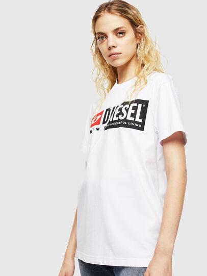 Diesel - T-DIEGO-CUTY, Blanco - Camisetas - Image 2