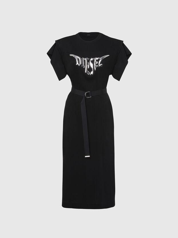 D-FLIX-C, Negro - Vestidos