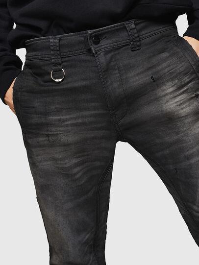 Diesel - D-Earby JoggJeans 069GN, Negro/Gris oscuro - Vaqueros - Image 3