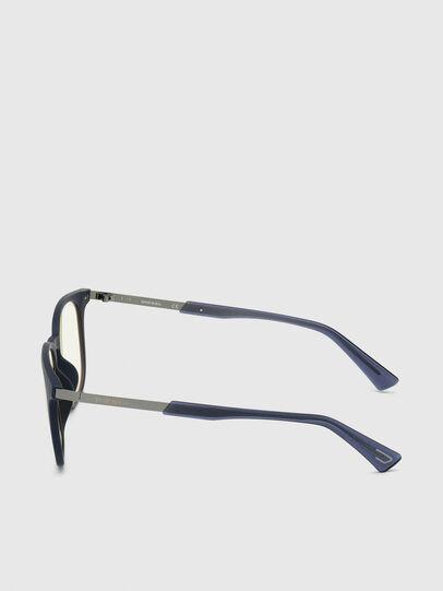 Diesel - DL0311, Azul Oscuro - Gafas de sol - Image 3