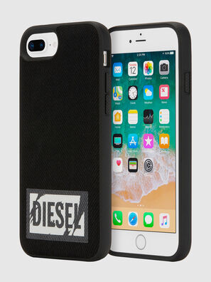 BLACK DENIM IPHONE 8 PLUS/7 PLUS/6S PLUS/6 PLUS CASE, Negro - Fundas