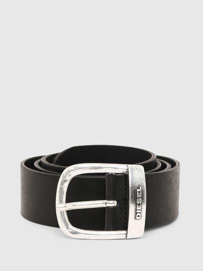Diesel - B-ROUNCLE, Negro - Cinturones - Image 1