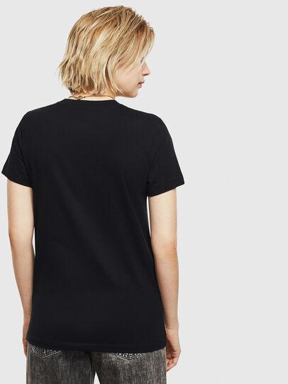 Diesel - T-SILY-S7, Negro - Camisetas - Image 2