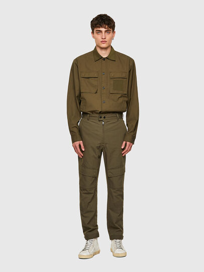 Diesel - P-SIDE, Verde Militar - Pantalones - Image 6