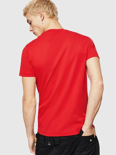 Diesel - T-DIEGO-DIV, Rojo Fuego - Camisetas - Image 2