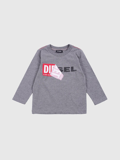 Diesel - TOQUEB-R, Gris - Camisetas y Tops - Image 1