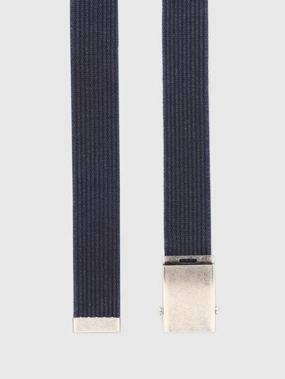 Diesel - B-COMBA, Azul - Cinturones - Image 3