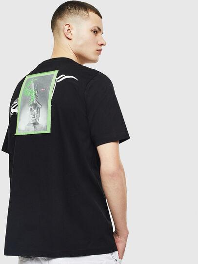 Diesel - T-JUST-T11, Negro - Camisetas - Image 2