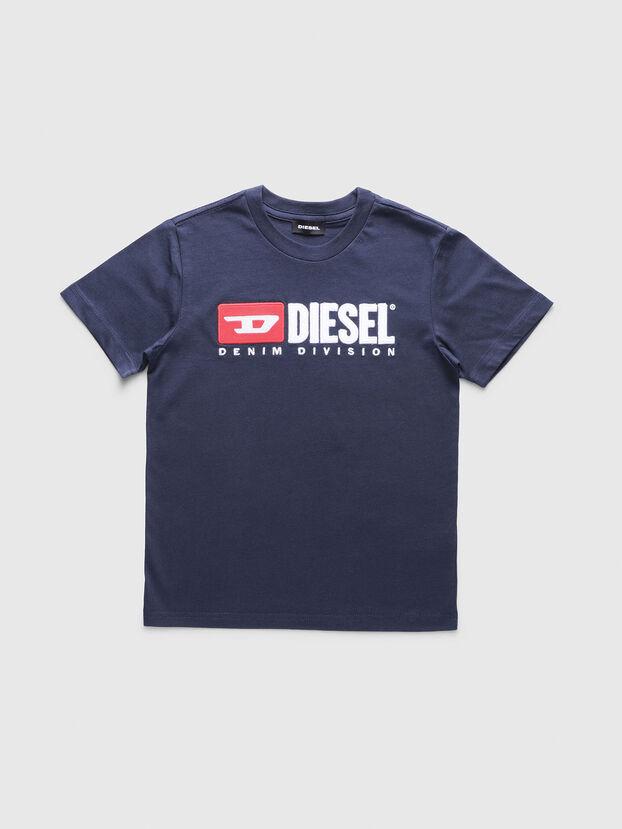 TJUSTDIVISION, Azul Oscuro - Camisetas y Tops