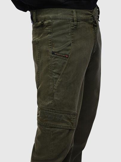Diesel - D-Krett JoggJeans® 069LX, Verde Militar - Vaqueros - Image 5