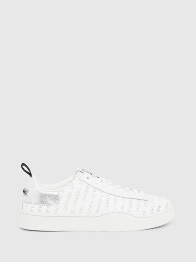 Diesel - S-CLEVER LOW LACE, Blanco/Plateado - Sneakers - Image 1