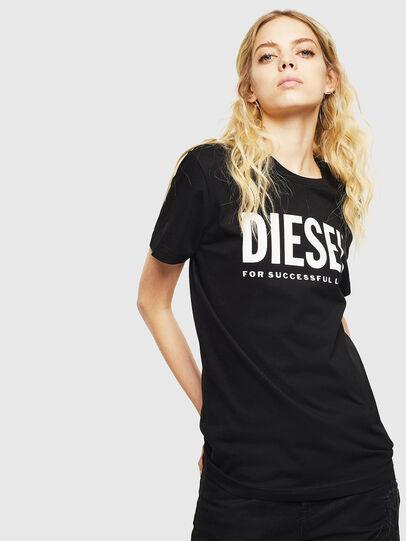 Diesel - T-DIEGO-LOGO, Negro - Camisetas - Image 2
