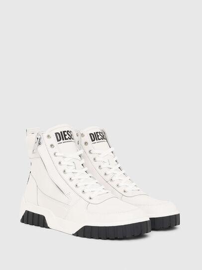 Diesel - S-RUA MID, Blanco - Sneakers - Image 2