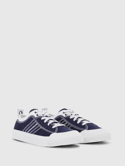 Diesel - S-ASTICO LOW LACE, Azul/Blanco - Sneakers - Image 2