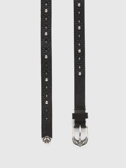 Diesel - B-HOR, Negro - Cinturones - Image 3