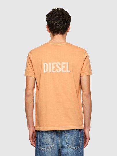 Diesel - T-DIEBIND-B1, Naranja - Camisetas - Image 2
