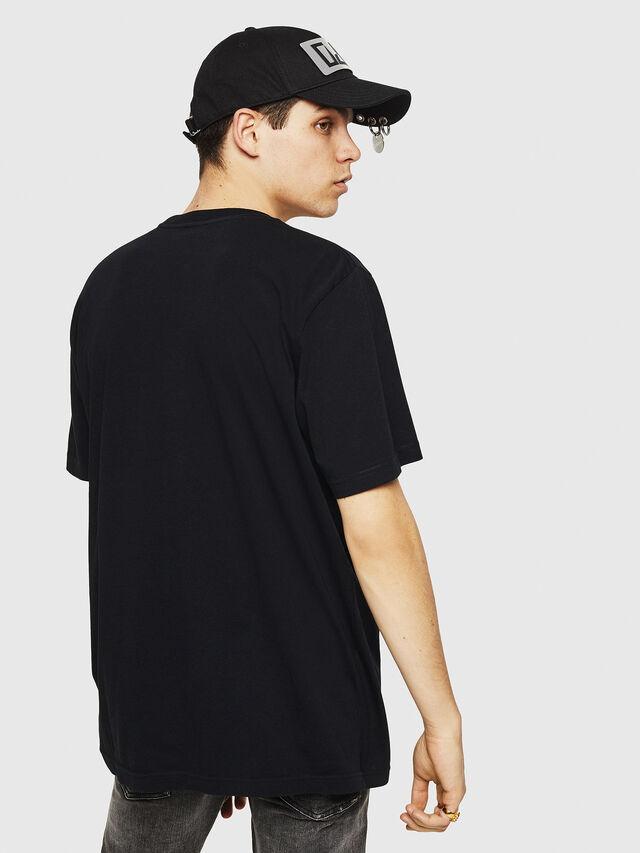 Diesel - T-JUST-Y21, Negro - Camisetas - Image 2