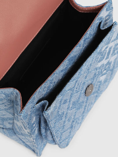 Diesel - MISS-MATCH CROSSBODY, Blue Jeans - Bolso cruzados - Image 4