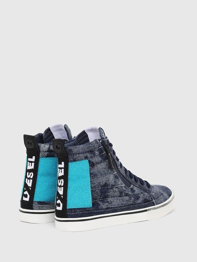 Diesel - D-VELOWS MID PATCH, Azul - Sneakers - Image 3