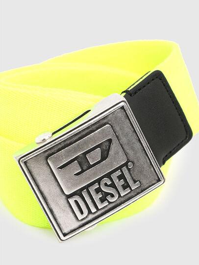 Diesel - B-METALTAPE, Amarillo - Cinturones - Image 2