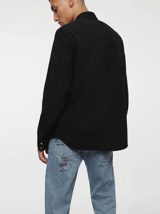 Diesel - D-PLANET, Black Jeans - Camisas de Denim - Image 2