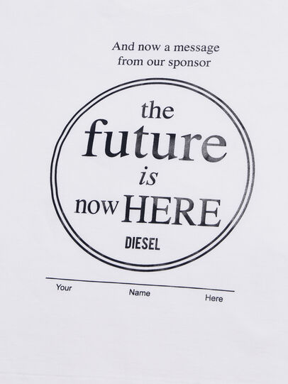 Diesel - TARTIB-R, Blanco - Camisetas y Tops - Image 3