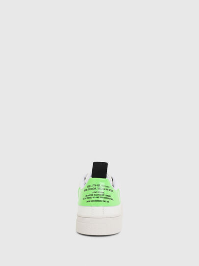 Diesel - S-CLEVER LOW LACE, Blanco/Verde - Sneakers - Image 4