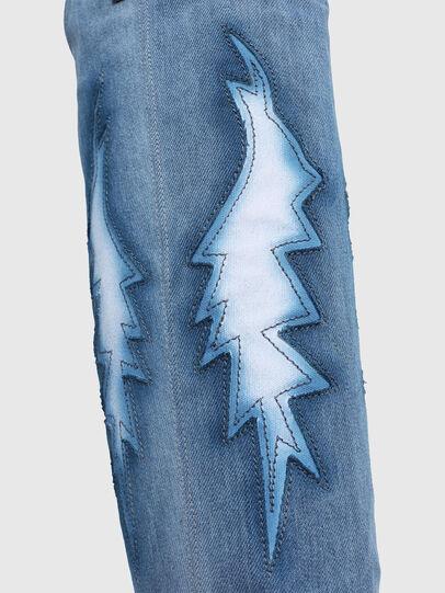 Diesel - D-GIUDECCA MHB, Blue Jeans - Botas - Image 4