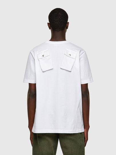 Diesel - T-JUSPOCK, Blanco - Camisetas - Image 2