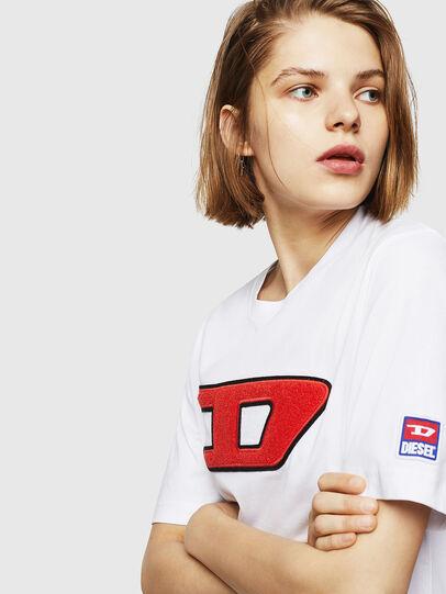 Diesel - T-JUST-DIVISION-D-FL, Blanco - Camisetas - Image 3