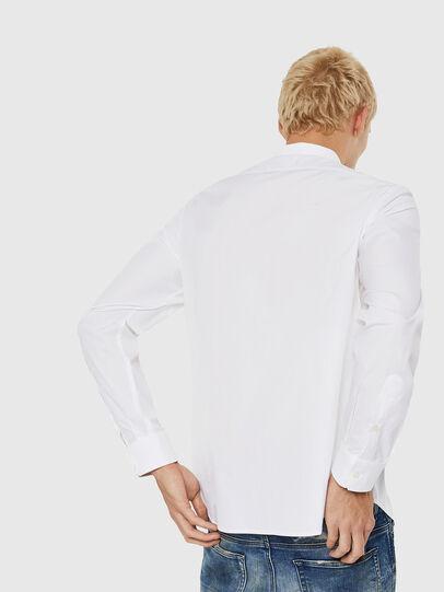 Diesel - S-BILL, Blanco - Camisas - Image 2