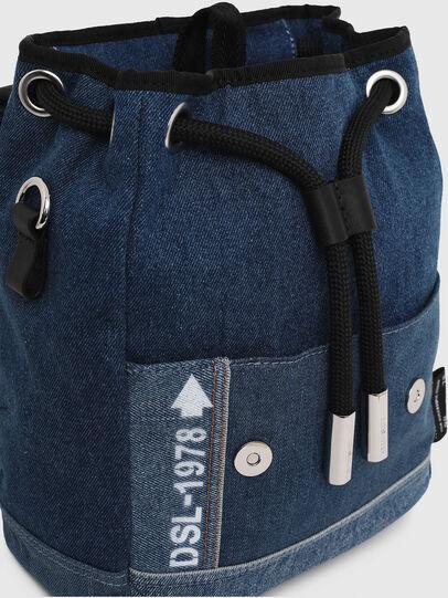 Diesel - DENIPACK, Blue Jeans - Mochilas - Image 4