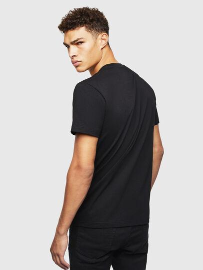 Diesel - T-DIEGO-J4, Negro - Camisetas - Image 3