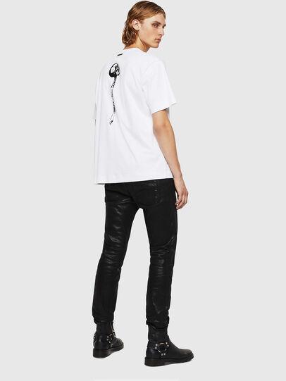 Diesel - TEORIALE-X1, Blanco - Camisetas - Image 6