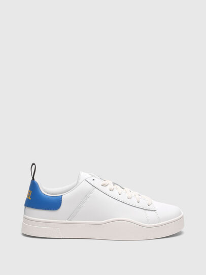 Diesel - S-CLEVER LOW LACE, Blanco/Azul marino - Sneakers - Image 1
