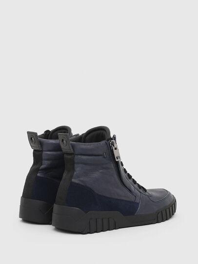 Diesel - S-RUA MID, Azul - Sneakers - Image 3