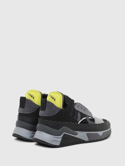Diesel - S-BRENTHA DEC, Negro/Gris - Sneakers - Image 3