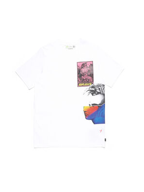 D-5055-W, Blanco - Camisetas