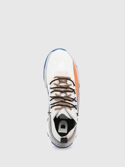 Diesel - S-KIPPER BAND, Blanco/Naranja - Sneakers - Image 4