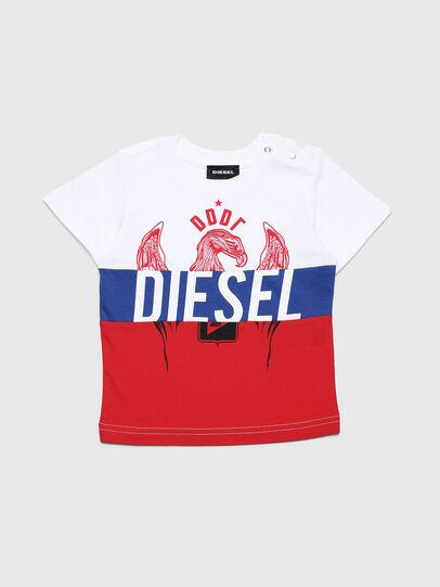 Diesel - TRICKYB, Blanco/Rojo/Azul - Camisetas y Tops - Image 1
