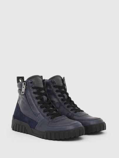 Diesel - S-RUA MID, Azul - Sneakers - Image 2